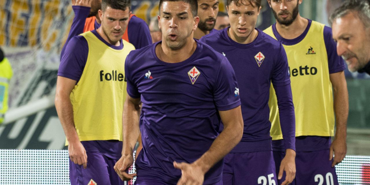 Simeone non conosce sosta e fatica, è lui il giocatore della Fiorentina che ha corso di più