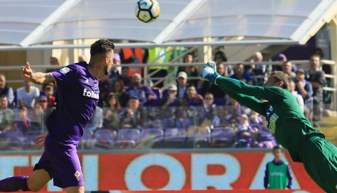 Thereau raddoppia, l'Udinese accorcia con Samir. Al minuto 28 è 2-1 per la Fiorentina