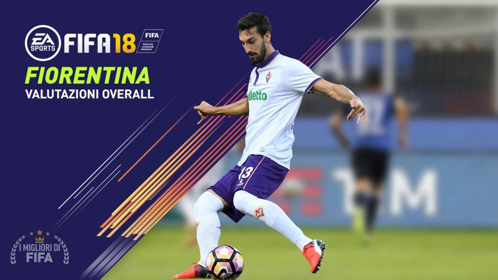 Quanto vale la Fiorentina a Fifa 18? Tutti i valori dei giocatori viola nel famoso videogioco