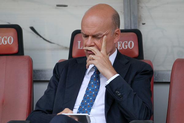 """Fassone: """"Se non dovessimo arrivare in Champions cederemo alcuni top player. Montella? Ha la nostra fiducia"""""""