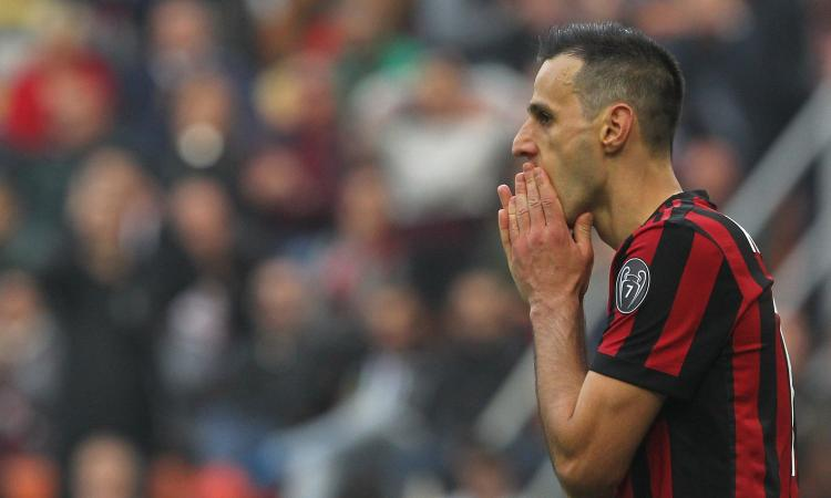 Tuttosport: il Milan vuole sbarazzarsi di Kalinic, si attende un'offerta dalla Cina