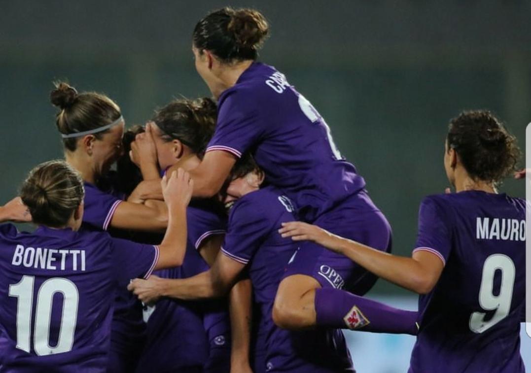 Fiorentina Women's vince e batte 2-1 il Fortune FC in Champions. Ritorno in Danimarca fra una settimana