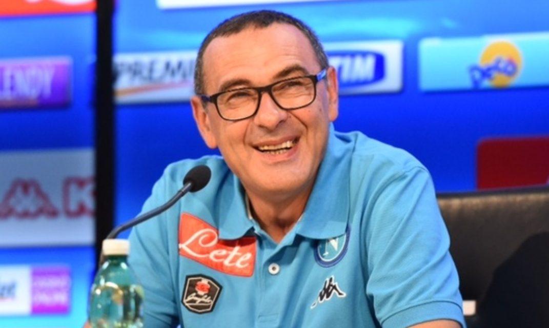 """Sarri in conferenza cita Firenze: """"Te lo dico in fiorentino, sai una sega tu di quel che dico negli spogliatoi"""""""