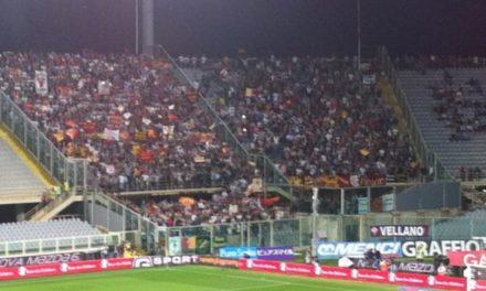 Settore ospiti tutto esaurito domenica, i tifosi della Roma stanno polverizzando la vendita dei biglietti