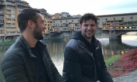La stella della Lazio Stefan De Vrij sceglie e si gode Firenze per passare i giorni liberi dal campionato