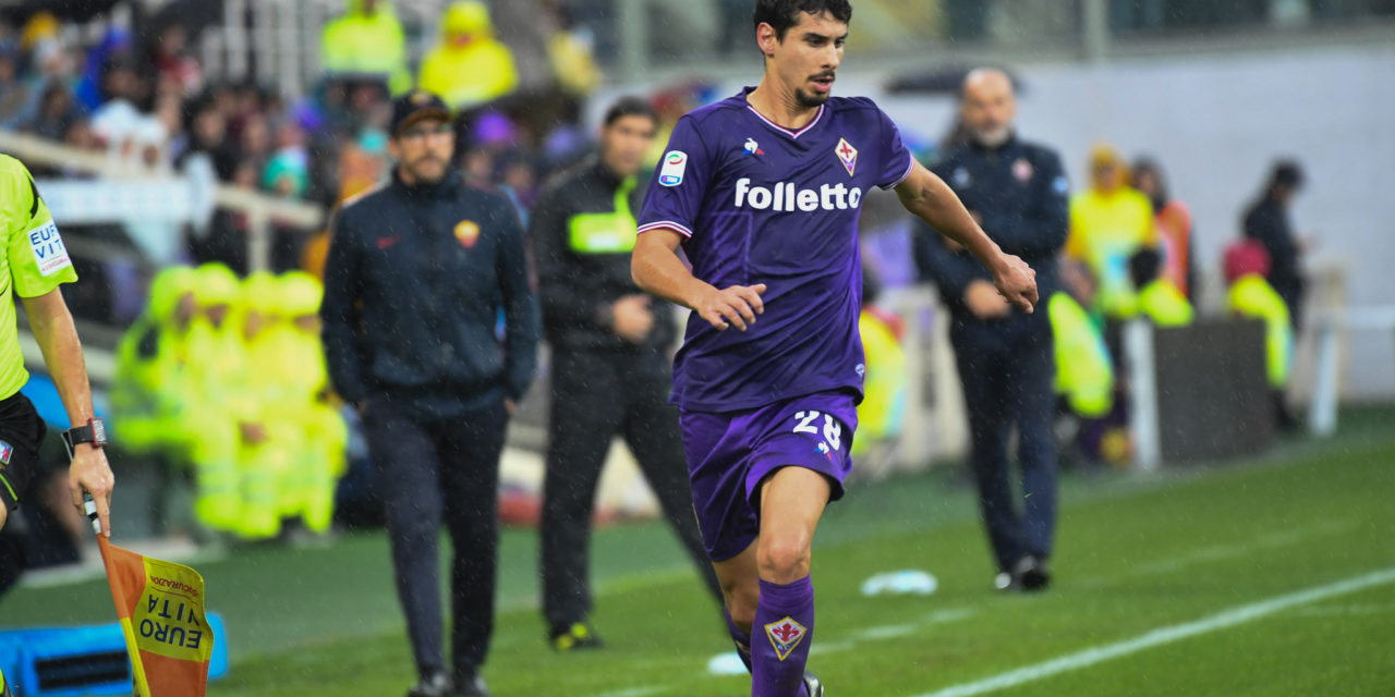"""Gil Dias: """"Sono innamorato di Firenze, non avevo mai visto così tanta gente allo stadio prima d'ora"""""""