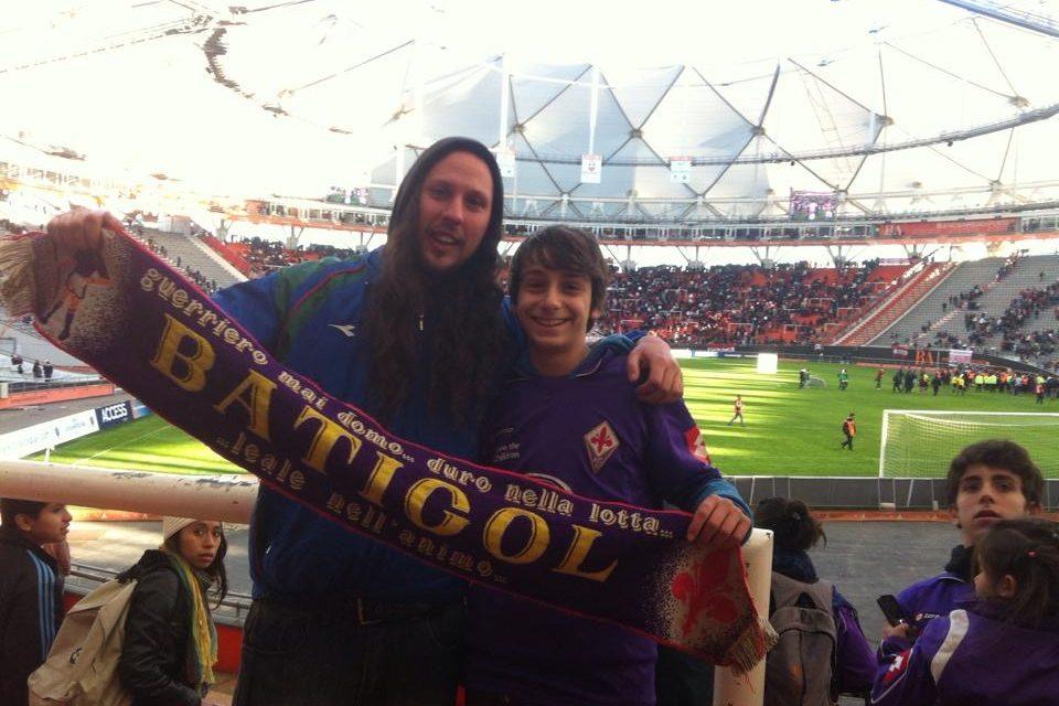 La storia di Paolo, da Santiago del Cile col sogno di vedere la Fiorentina al Franchi