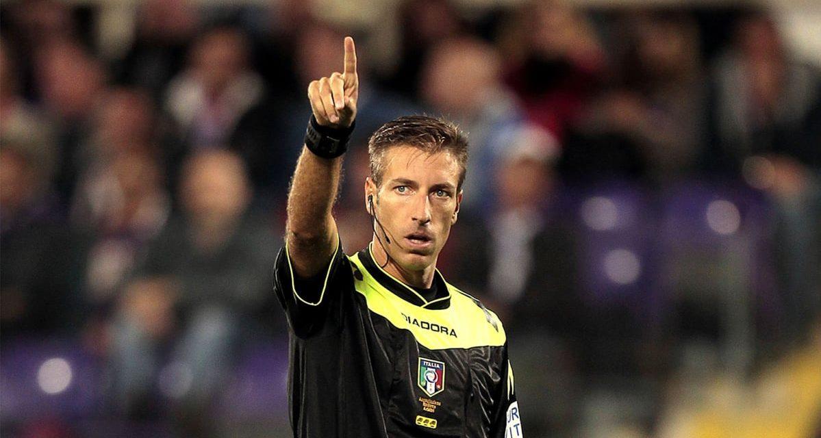 Per Lazio-Fiorentina c'è Massa, Schenone e Tasso gli assistenti