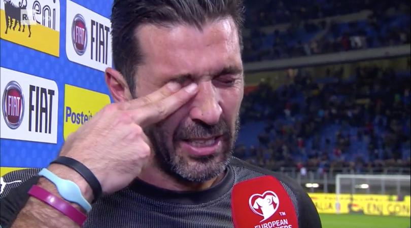Libero: PianGigi Buffon e quelle lacrime che ormai fanno solo ridere