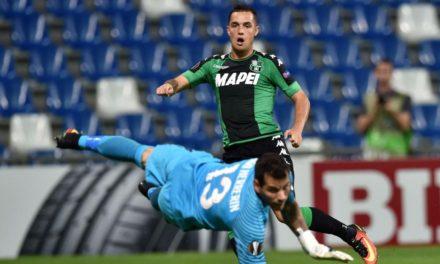 Calciomercato.com: Lirola non gioca più a Sassuolo, e la Fiorentina resta vigile