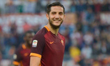 Roma nuovamente in vantaggio. Manolas segna la terza rete da calcio d'angolo