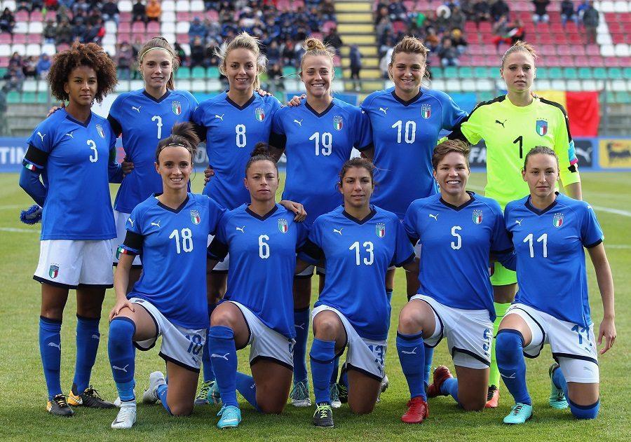 Calcio femminile: l'Italia vince anche in Portogallo e guida il girone a punteggio pieno