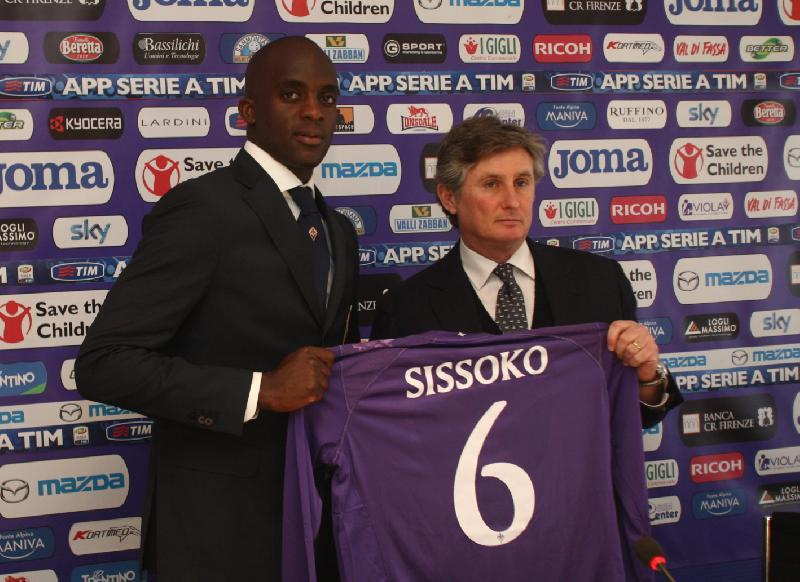 """Sissoko: """"Con Montella difficile entrare fra i titolari. Firenze città bellissima"""""""