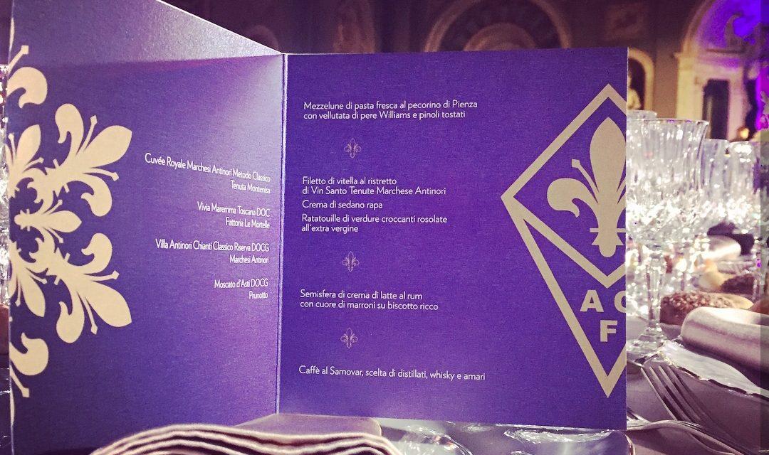 Tutte le foto della cena di Natale della Fiorentina a Palazzo Vecchio, proprietà assente, squadra al completo