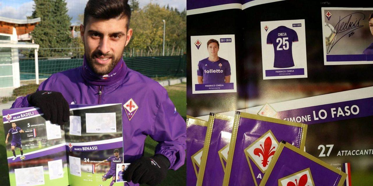 Le figurine della Fiorentina vanno a ruba, una raccolta dedicata a grandi e piccini