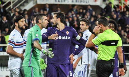 Tuttosport: Fiorentina-Samp in bilico sul Var, i rigori sono stati decisivi