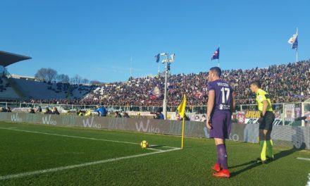 """Fiorentina e Genoa sul filo dell'equilibrio, al """"Franchi"""" è ancora 0-0 dopo i primi 45′"""