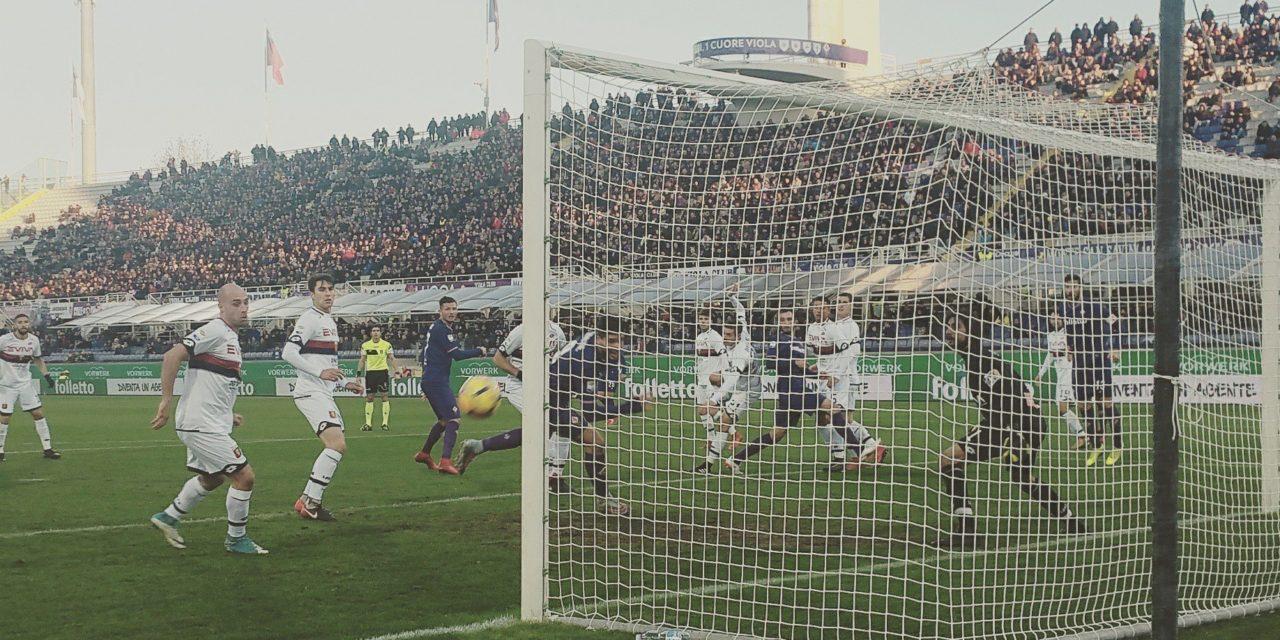 Cadono le dirette concorrenti ma la Fiorentina non ne approfitta, contro il Genoa grande occasione persa