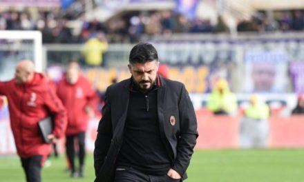 """Gattuso: """"Male nel primo tempo, ma abbiamo sofferto poco. Abbiamo aspettato la Fiorentina perché stanchi"""""""
