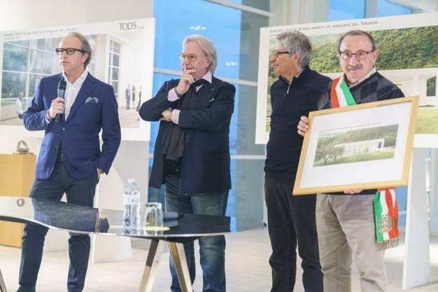 ACF, inaugurazione scuola pagata dalla Fiorentina a San Severino Marche: la photogallery