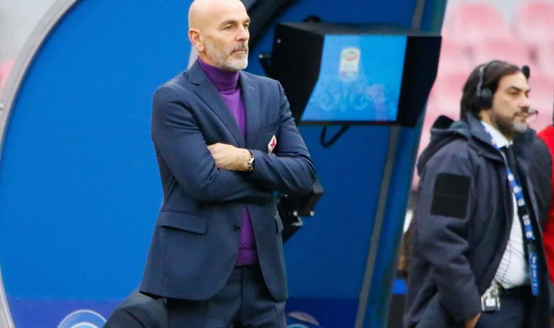 """Pioli: """"Grande primo tempo e grande partita, orgoglioso della mia Fiorentina oggi a Napoli"""""""