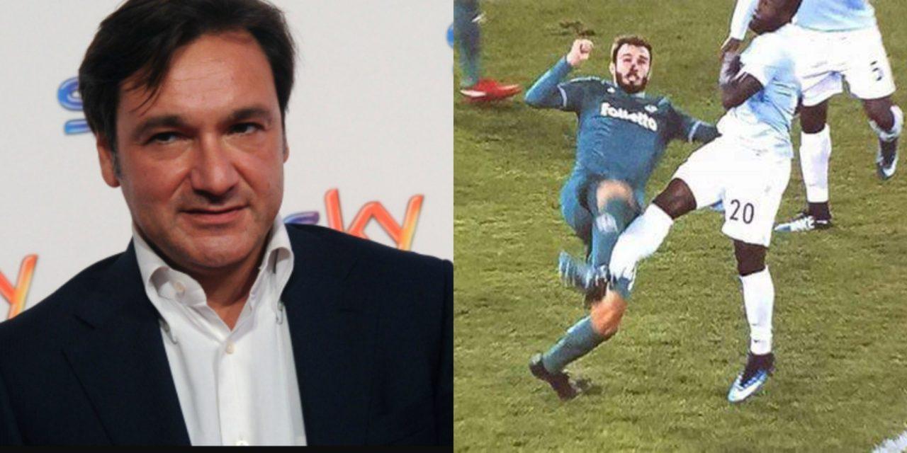 """Caressa durante Napoli-Juve: """"È rigore quando non prende la palla, come Caicedo contro la Fiorentina"""""""
