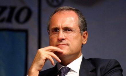 Clamoroso Lazio, torti contro Fiorentina e Torino? Lotito vuole ritirare la squadra dal campionato