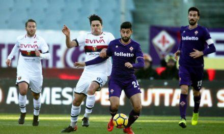 La Fiorentina impatta contro il Genoa: uno 0-0 insipido ed una bella occasione per accorciare sprecata