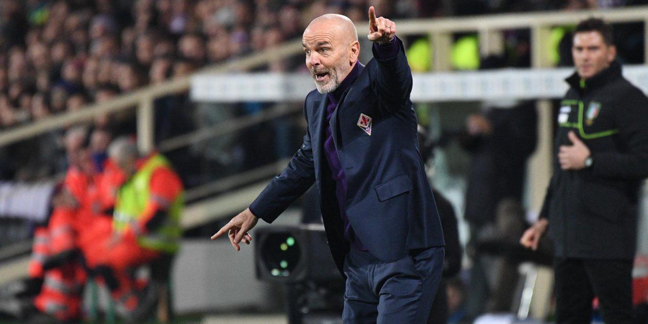 """Pioli: """"Da inizio anno gli arbitri sono migliorati, non abbiamo parlato di Lazio-Fiorentina"""""""