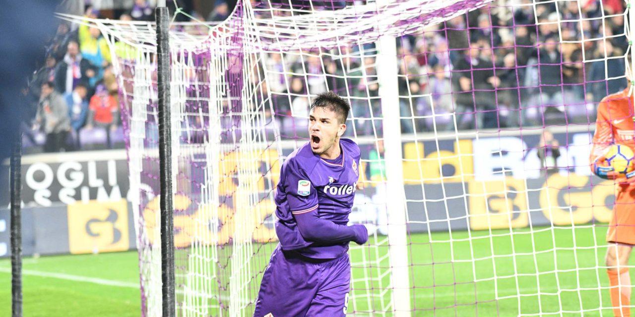 Digiuno finito per Simeone, Fiorentina avanti dopo 2 minuti