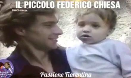 """VIDEO """"È andato via Batistuta chi fa i gol adesso?"""" Un piccolo Chiesa risponde """"Io"""""""