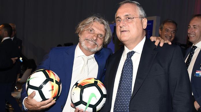 """Lotito e Ferrero scendono in campo e si candidano con la lista """"Noi con l'Italia"""""""