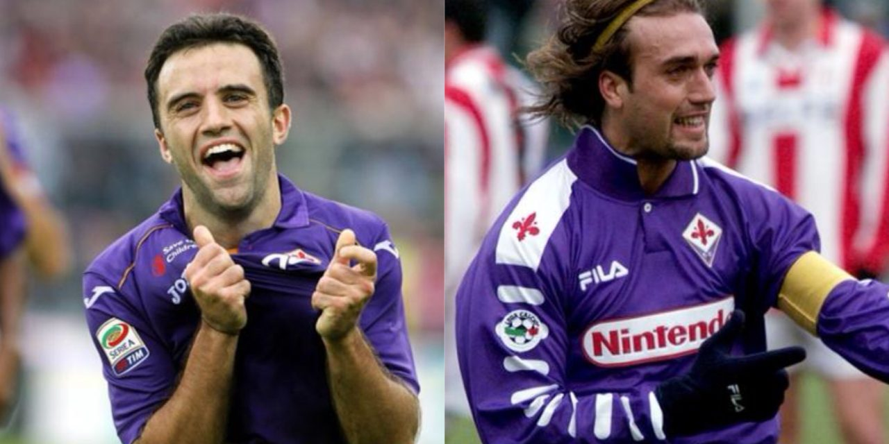 1 Febbraio giorno di campioni: tanti auguri a Gabriel Omar Batistuta e Giuseppe Rossi. Due gioielli indimenticati a Firenze…