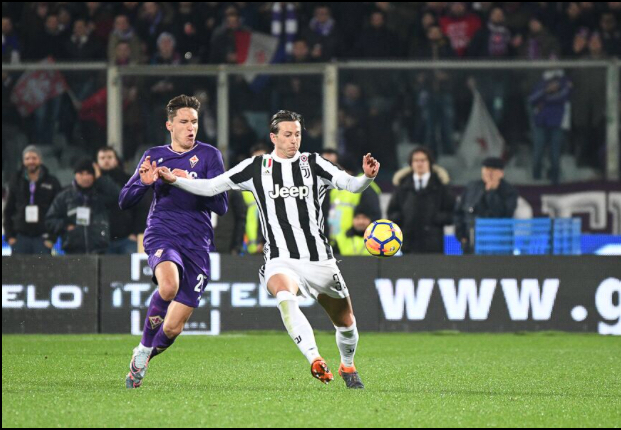 Fiorentina- Juve 0-2: Berna e Higuain condannano una buona viola