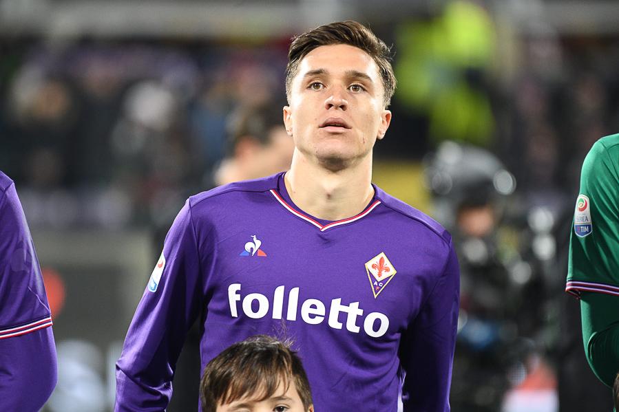 """Chiesa: """"Credo nel progetto della società viola. Con la Fiorentina vogliamo arrivare più in alto possibile"""""""
