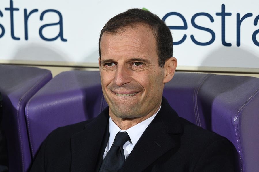 """Allegri: """"Non volevo sminuire la Fiorentina, ma giocare nella Juventus è un'altra cosa"""""""