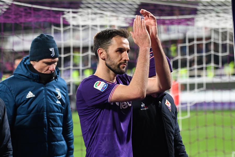 Badelj porta in vantaggio la Fiorentina al 15′, rete meritata dai viola