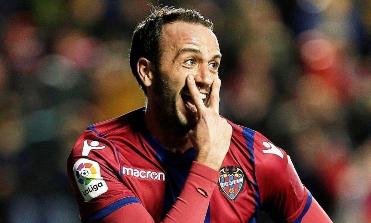 In Spagna è già Pazzini-mania e il Levante inventa il kit per esultare come lui