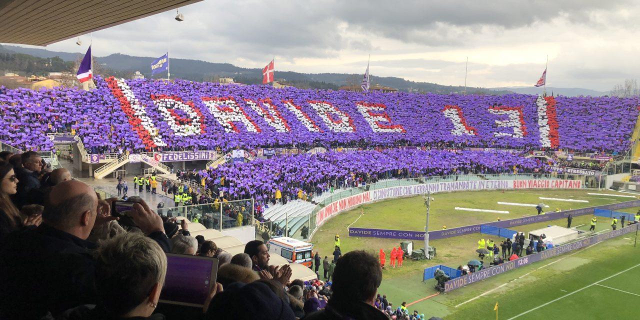 Astori, domenica contro il Cagliari la Fiesole farà una coreografia per ricordare il Capitano