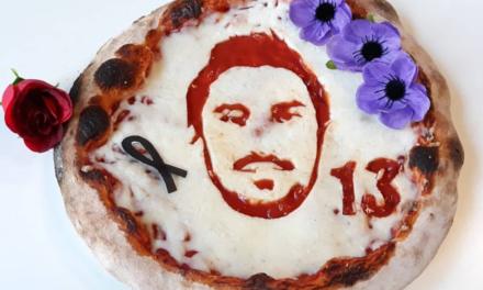 A Lucca pizza speciale in onore di Astori