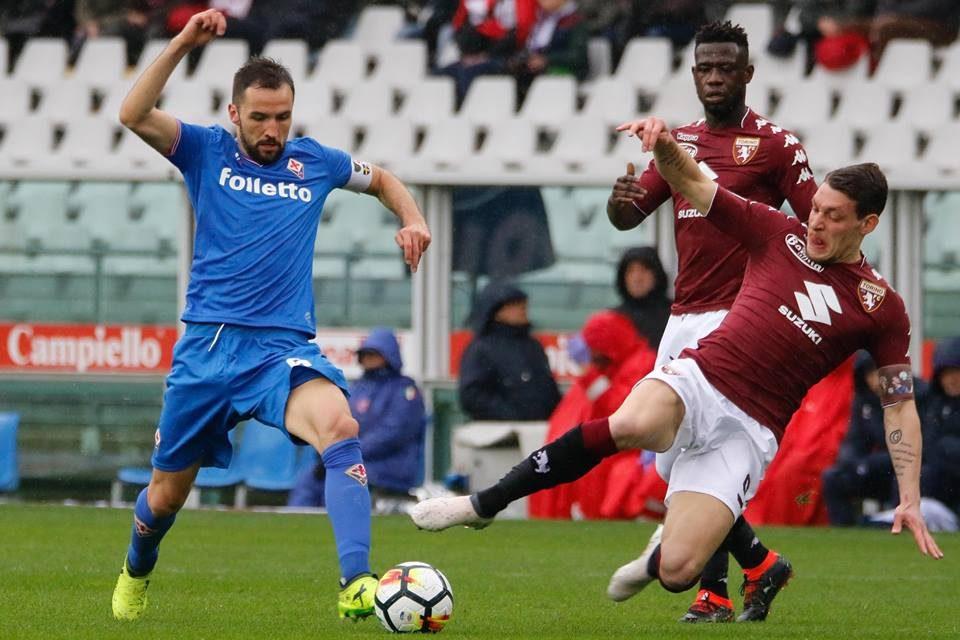 Gazzetta: Fiorentina padrona a Torino, le chiavi Badelj e Saponara. I viola si ribellano alla beffa…