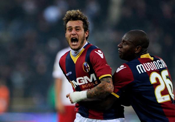 Diamanti segna con il Perugia e scoppia a piangere. Gol dedicato ad Astori…