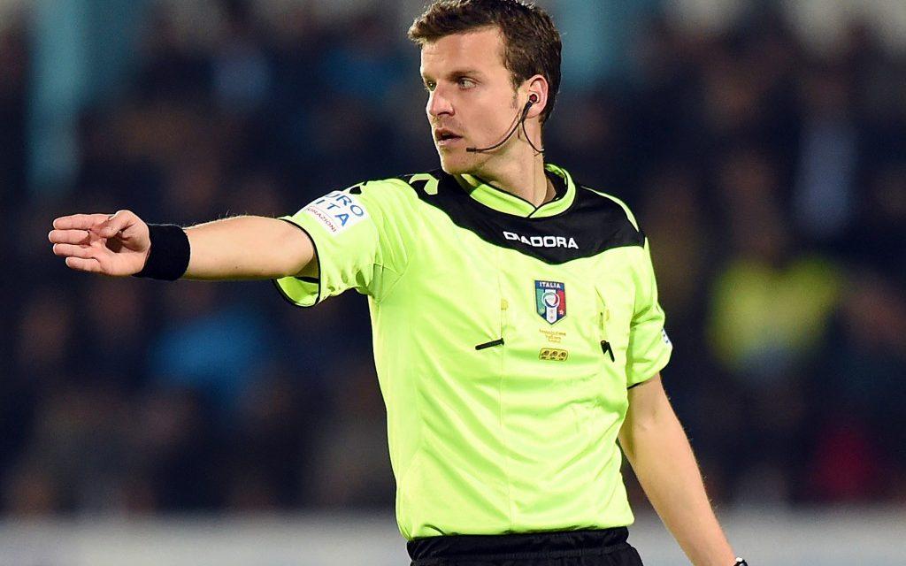 Udinese-Fiorentina sarà diretta da La Penna, Marrazzo e La Rocca gli assistenti