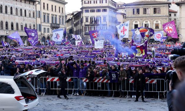 Oltre 30mila al Franchi per salutare Davide: Firenze si stringe intorno al suo capitano