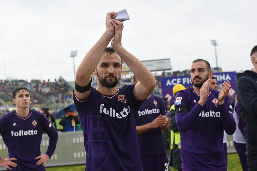 Badelj segna un gol molto importante e lo dedica a Davide Astori (LA FOTO)