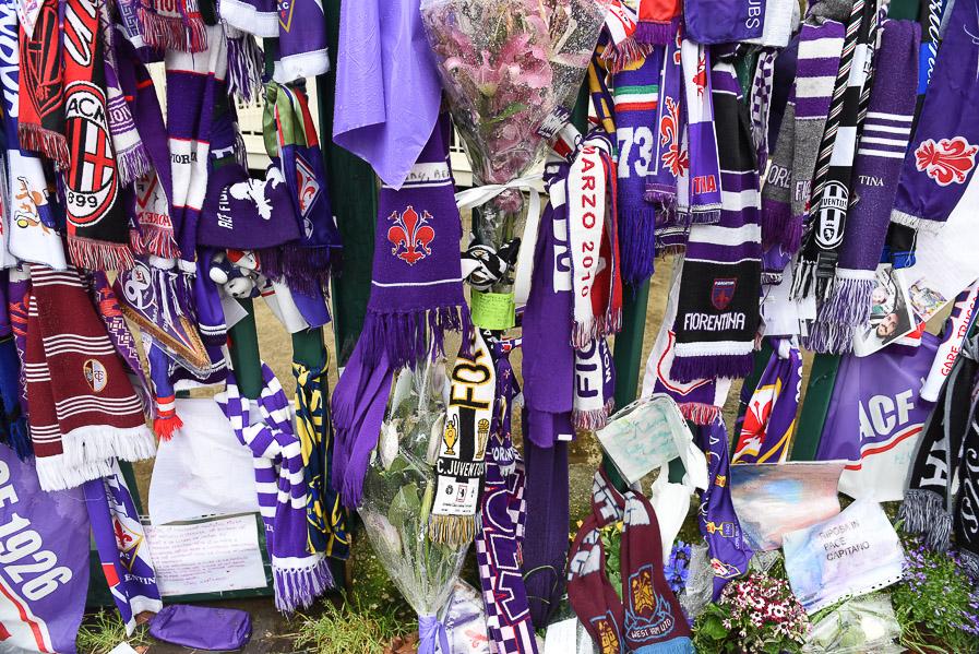 Muro viola: la Fiorentina non vuole disperdere il ricordo dei tifosi
