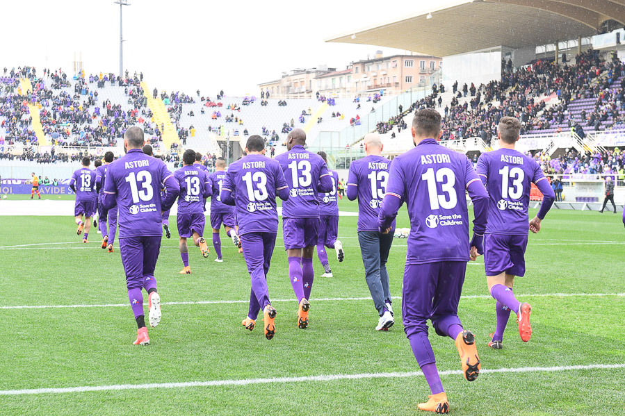 Fiorentina Women's, ritirata la 13 in onore di Astori (FOTO)