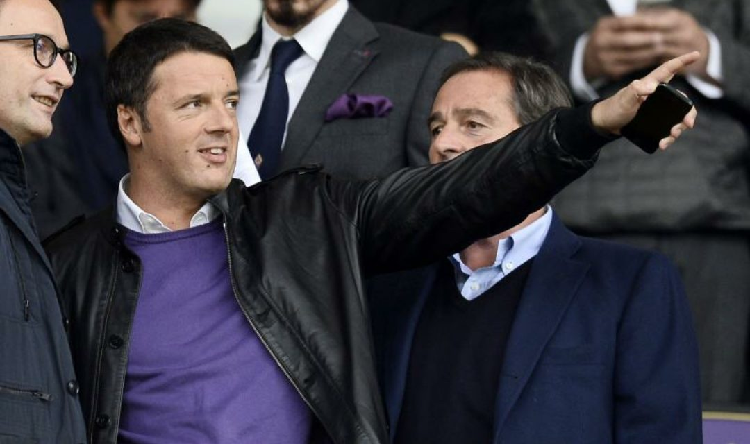 """Tragedia Astori, Renzi: """"Sono incredulo, piango con la sua famiglia e con la Fiorentina"""""""