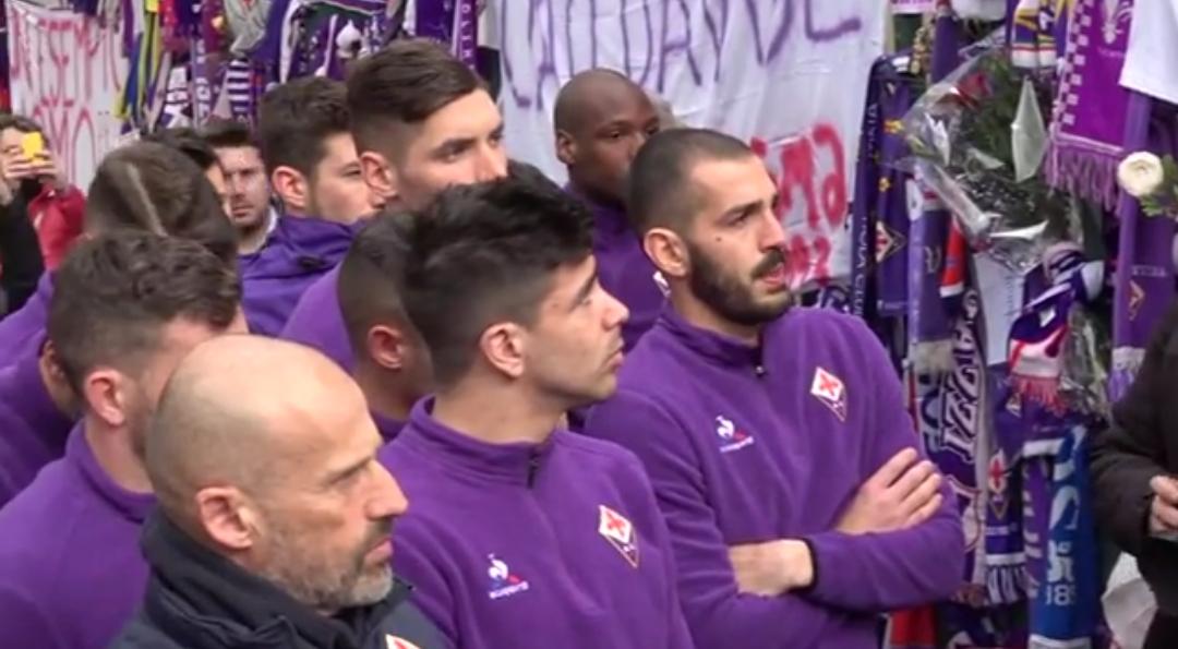 Annullato l'allenamento della Fiorentina del pomeriggio. La squadra vuole essere a Coverciano per Astori