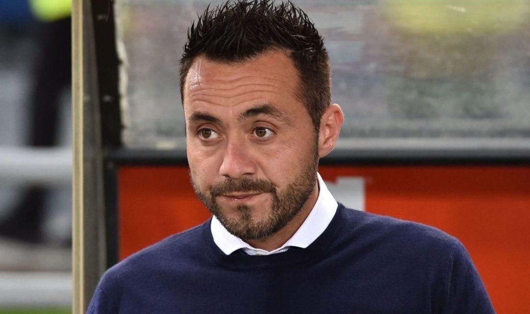 """De Zerbi: """"Orgogliosi di esserci stati. Questa settimana niente studio video sulla Fiorentina"""""""